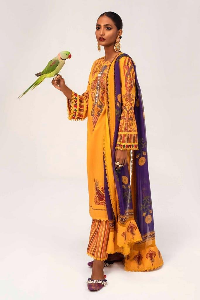 SANA SAFINAZ | MAHAY SUMMER'21 Collection | H211-012B-AI