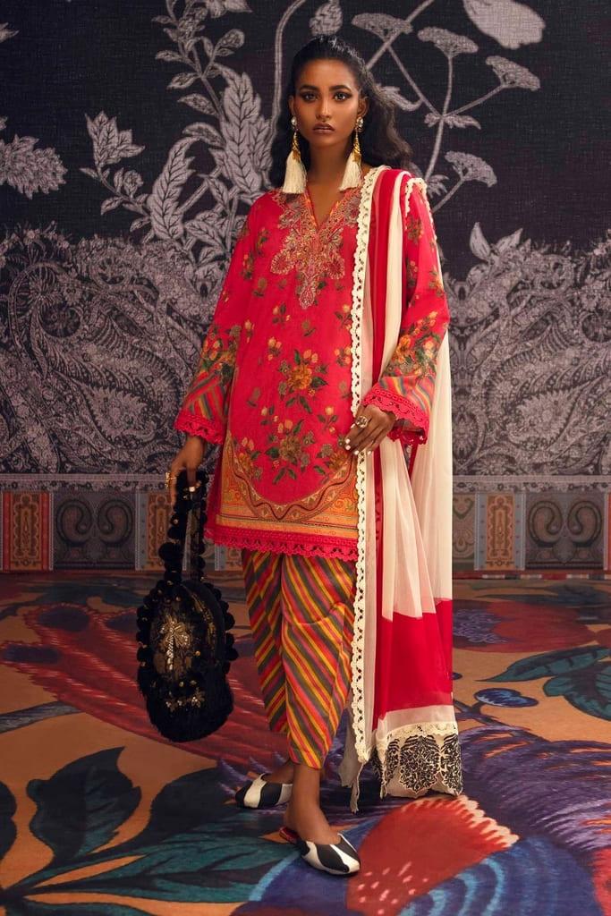 SANA SAFINAZ | MAHAY SUMMER'21 Collection | H211-015B-CI