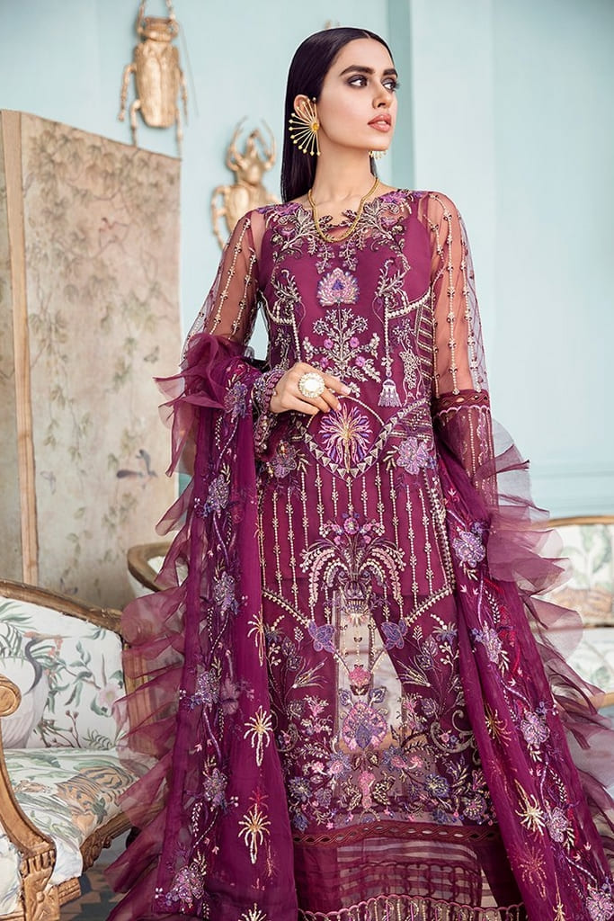 AFROZEH   LA FUCHSIA Collection'21   Lady Grace