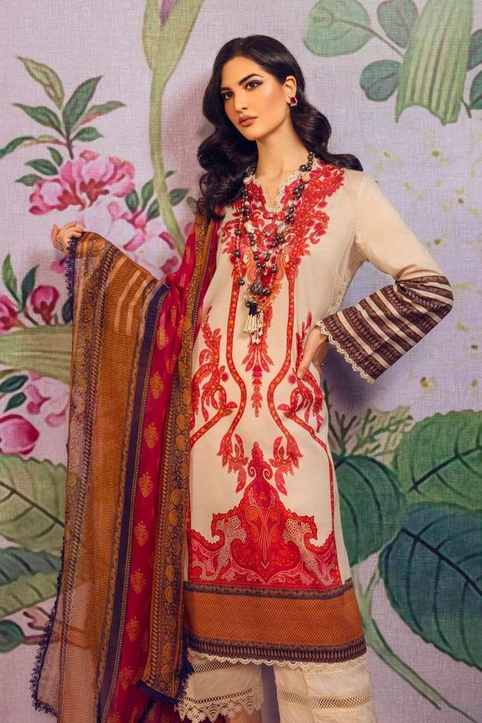 SANA SAFINAZ | MAHAY SUMMER'21 Collection | H211-005B-I