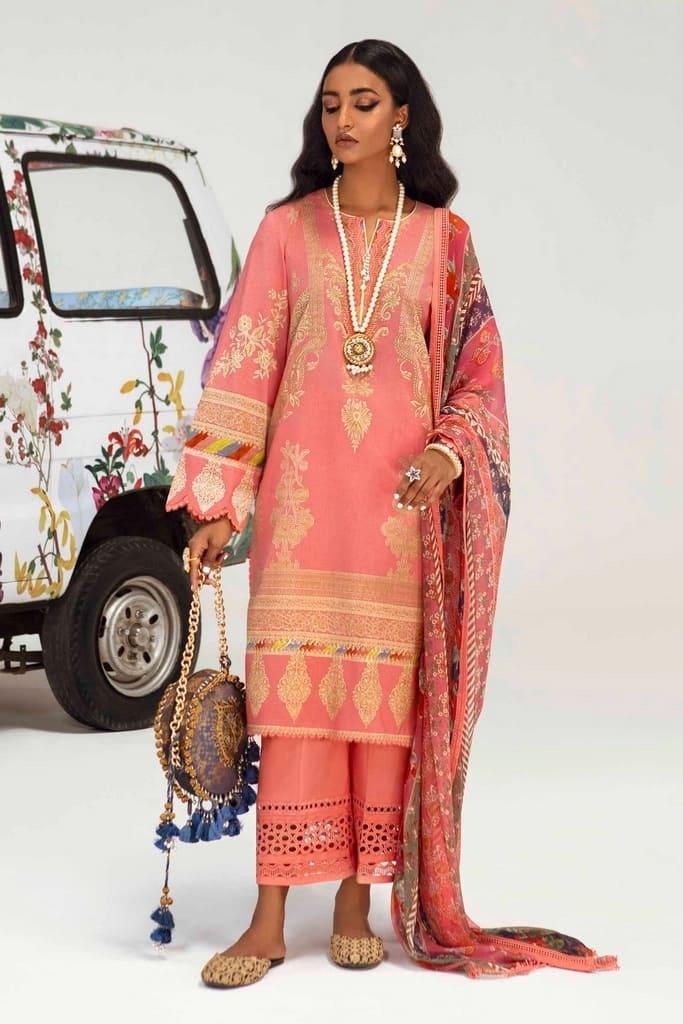 SANA SAFINAZ | MAHAY SUMMER'21 Collection | H211-009A-AI
