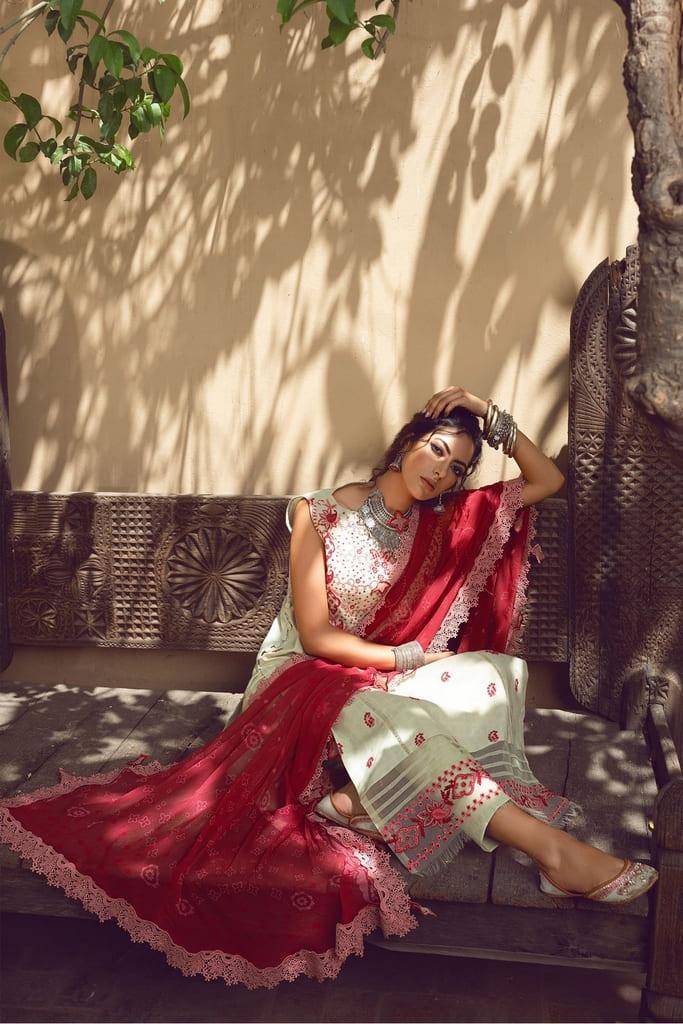 SHIZA HASSAN | KINAAR LAWN Collection'21 | AVEEN