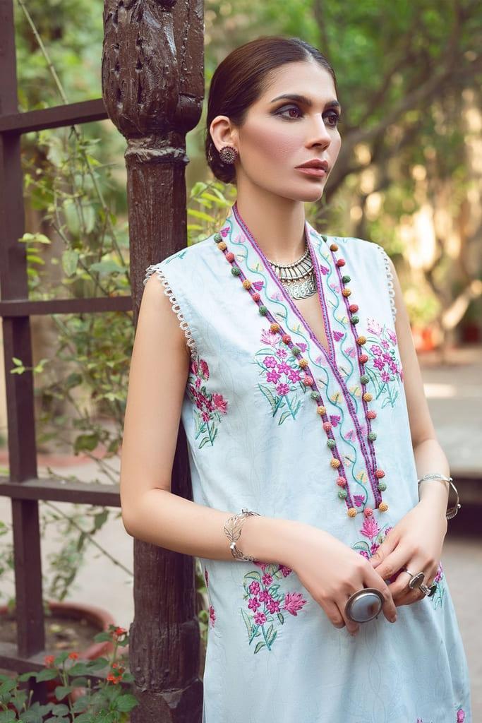 SHIZA HASSAN | KINAAR LAWN Collection'21 | ELNAZ