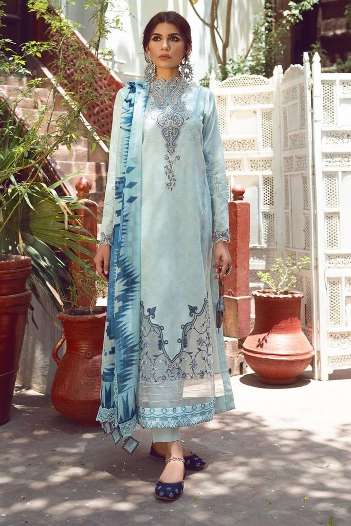 SHIZA HASSAN | KINAAR LAWN Collection'21 | FARISAA