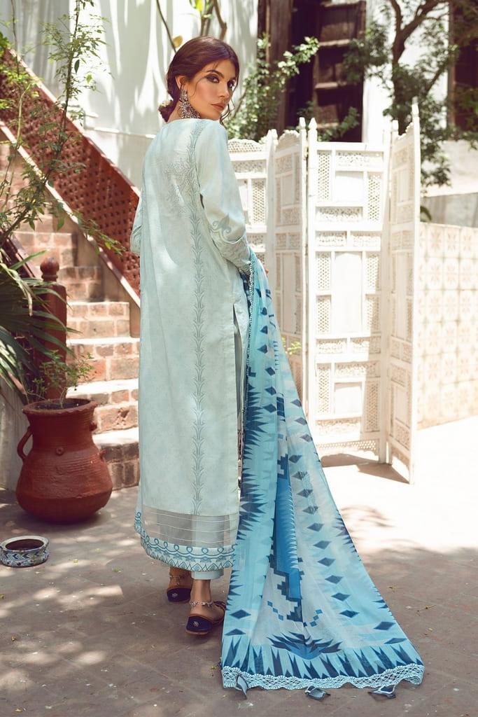 SHIZA HASSAN   KINAAR LAWN Collection'21   FARISAA