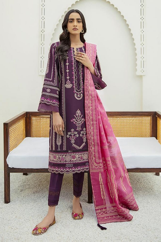XENIA | MARMA EMBROIDERED LAWN | AYNUR