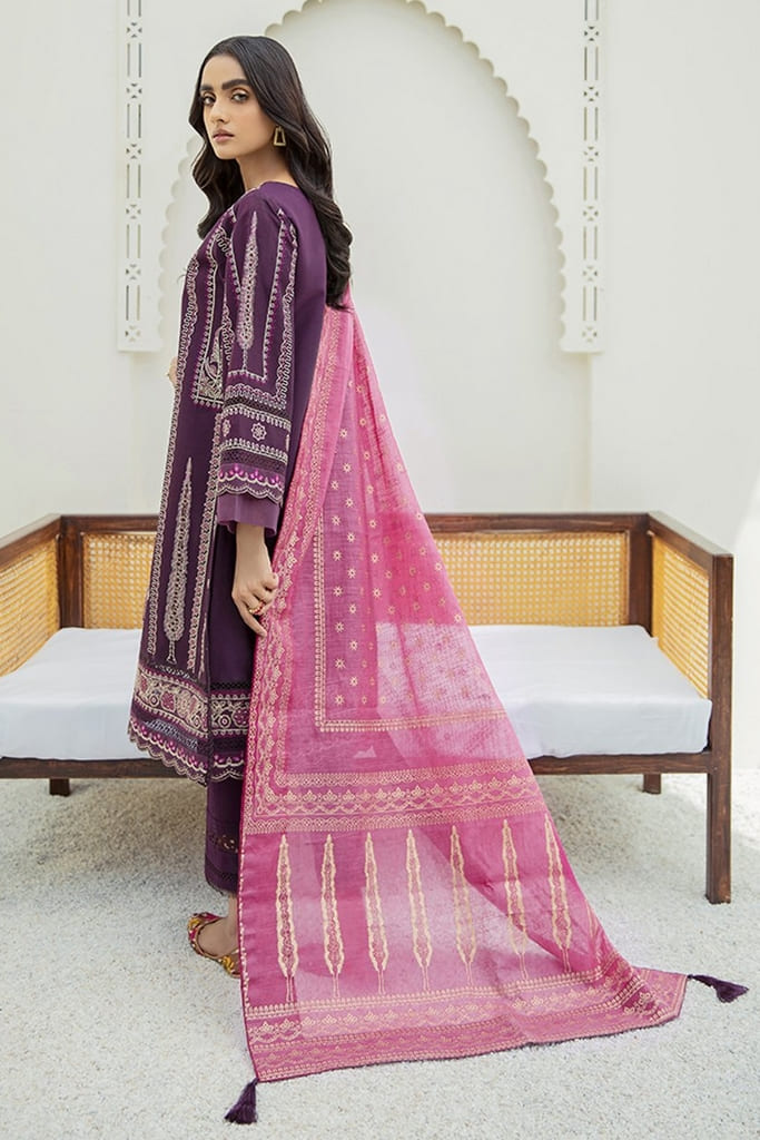 XENIA   MARMA EMBROIDERED LAWN   AYNUR