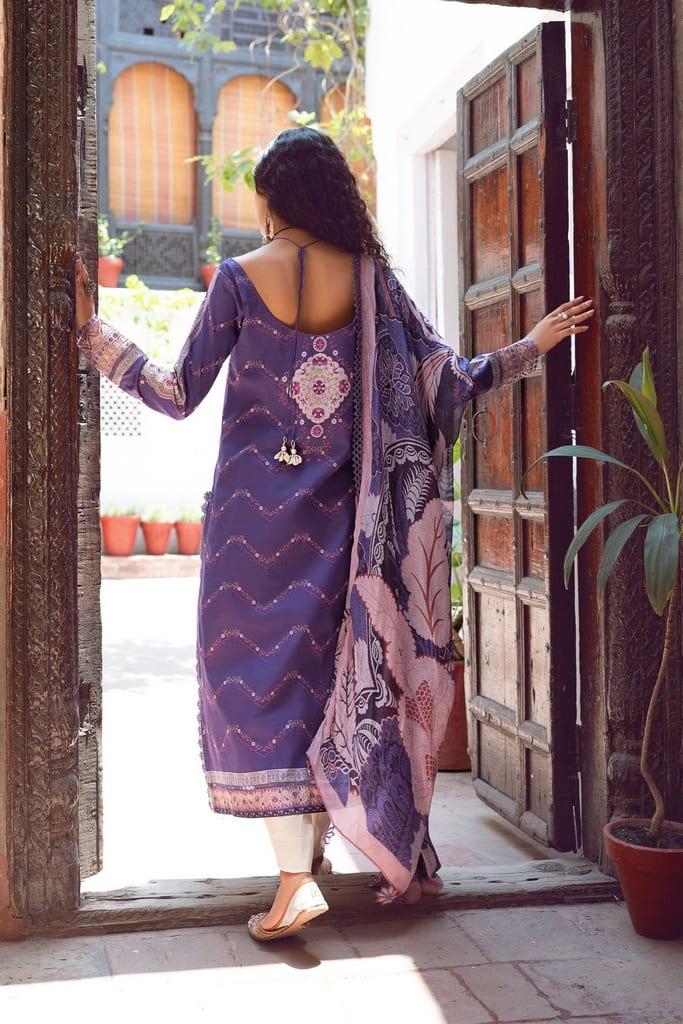 SHIZA HASSAN | KINAAR LAWN Collection'21 | MAHRU