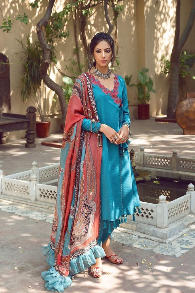 SHIZA HASSAN   KINAAR LAWN Collection'21   PARINA