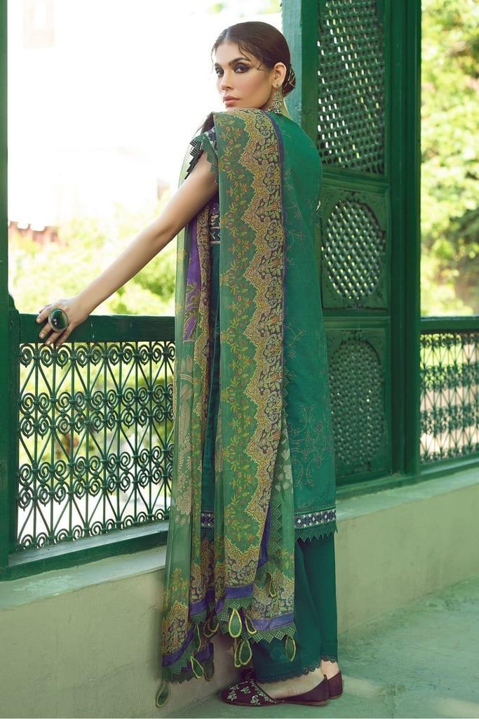 SHIZA HASSAN   KINAAR LAWN Collection'21   ZARGUL