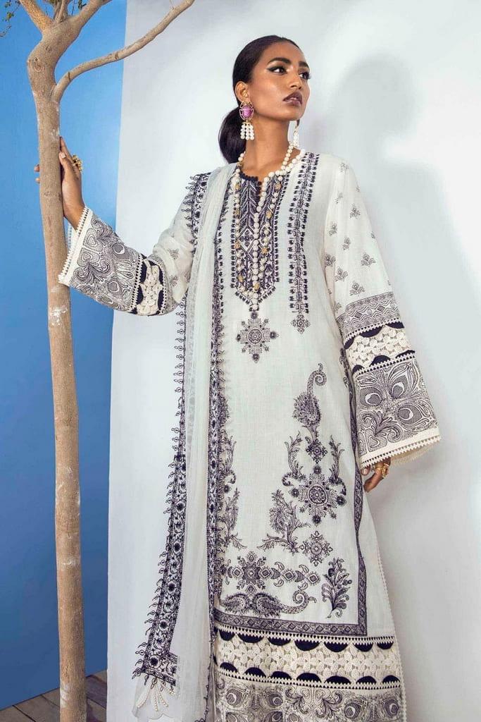 SANA SAFINAZ | MUZLIN SUMMER'21 Collection | M213-010B-CT