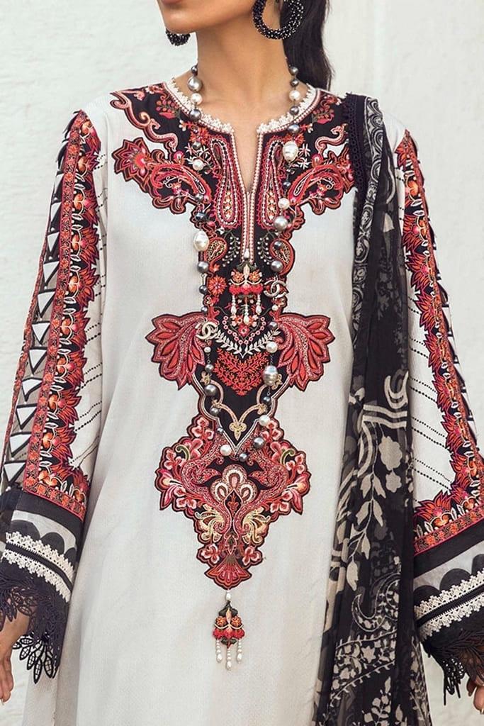 SANA SAFINAZ | MUZLIN SUMMER'21 Collection | M213-011A-CI