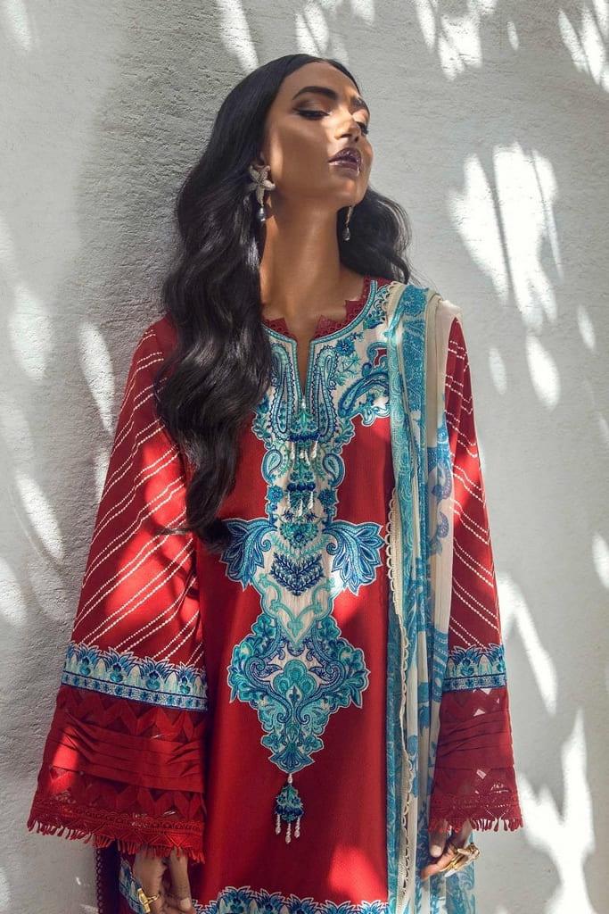 SANA SAFINAZ | MUZLIN SUMMER'21 Collection | M213-011B-CI