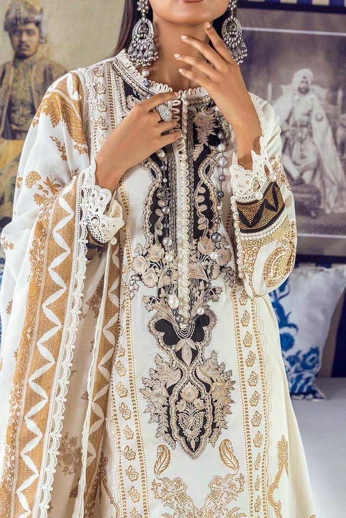 SANA SAFINAZ | MUZLIN SUMMER'21 Collection | M213-012A-CU