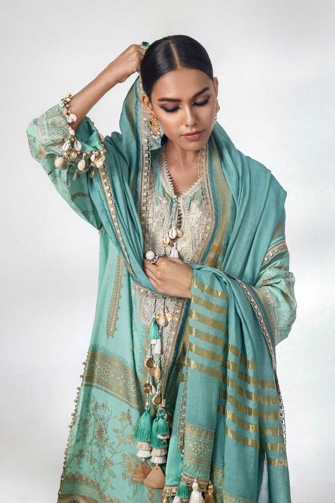 SANA SAFINAZ | KURNOOL Collection'21 | B211-003B-CU