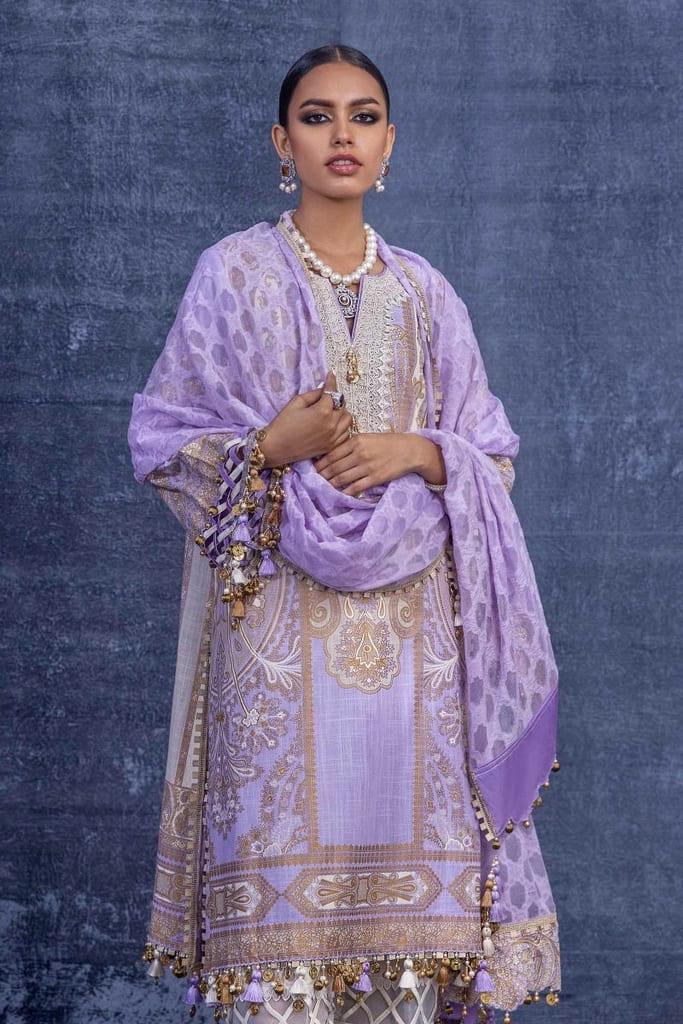 SANA SAFINAZ | KURNOOL Collection'21 | B211-007B-CU