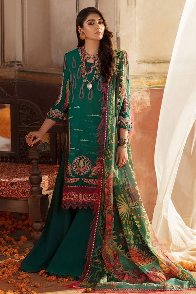 REPUBLIC | NIGHAT LAWN Collection'21 | D1