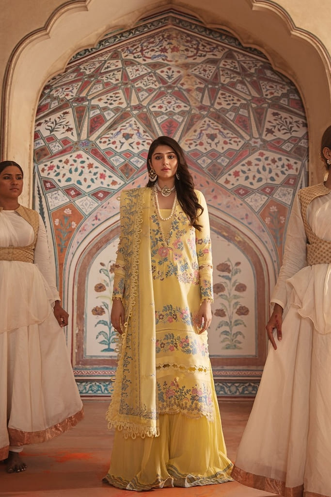 REPUBLIC | NIGHAT LAWN Collection'21 | D4