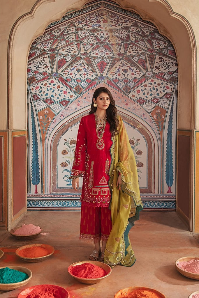 REPUBLIC | NIGHAT LAWN Collection'21 | D6