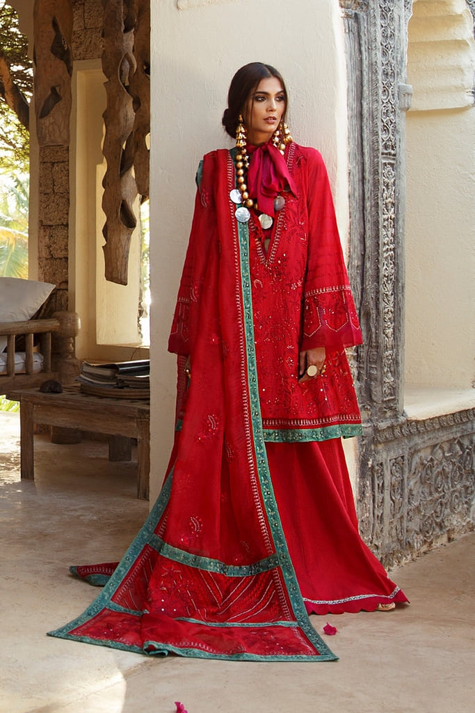 ELAN | EMBROIDERED LAWN'20 Collection | EL-10 B (AMANA)
