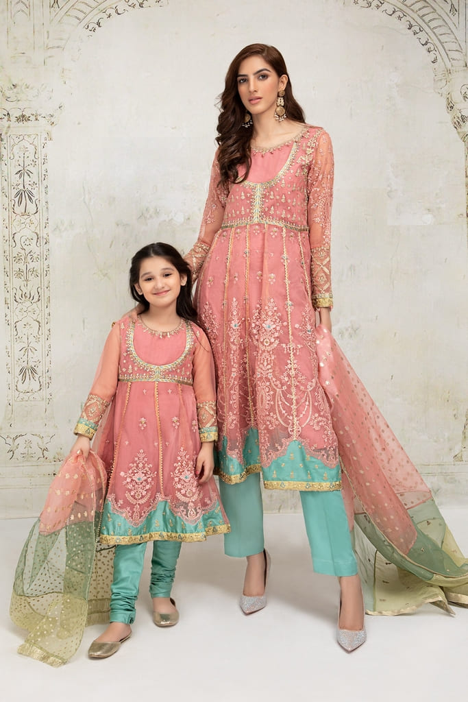 MARIA B | EVENING WEAR Collection | Suit Pink SF-EF21-11