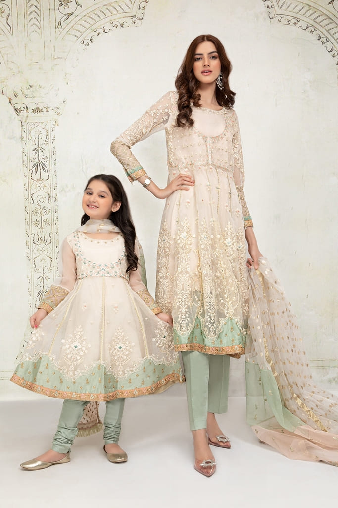 MARIA B | EVENING WEAR Collection | Suit Off White SF-EF21-11