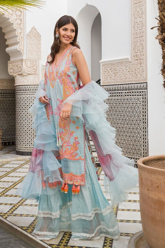 SOBIA NAZIR | LUXURY LAWN'20 Collection | DESIGN 6B