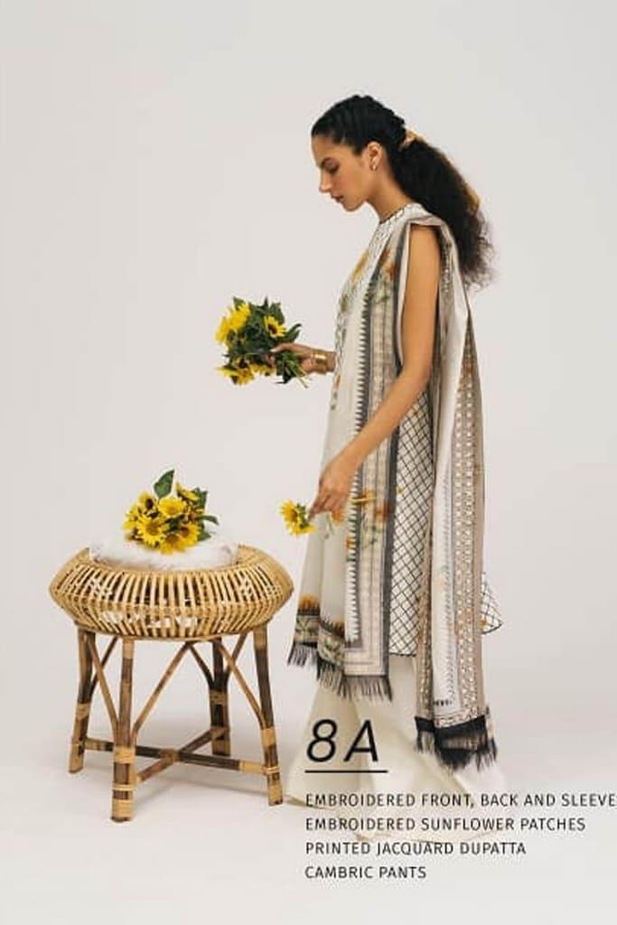 ZARA SHAHJAHAN | COCO LAWN Collection | 8A