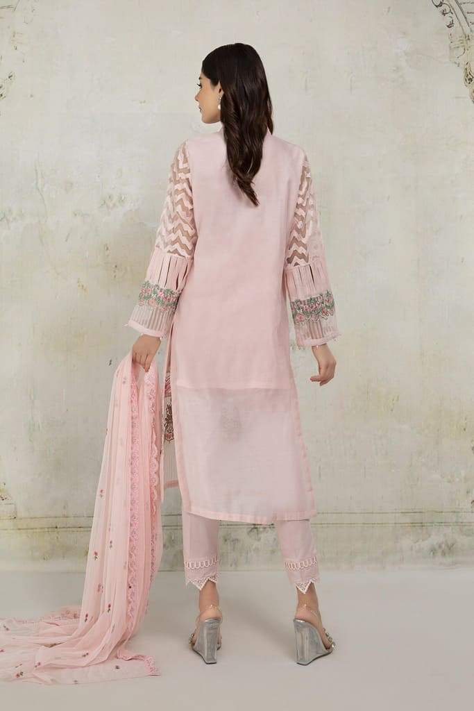MARIA B | READY TO WEAR CASUAL Collection | Suit Pink DW-EA21-12