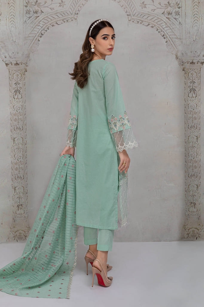 MARIA B   READY TO WEAR CASUAL Collection   Suit Ferozi DW-EF21-19