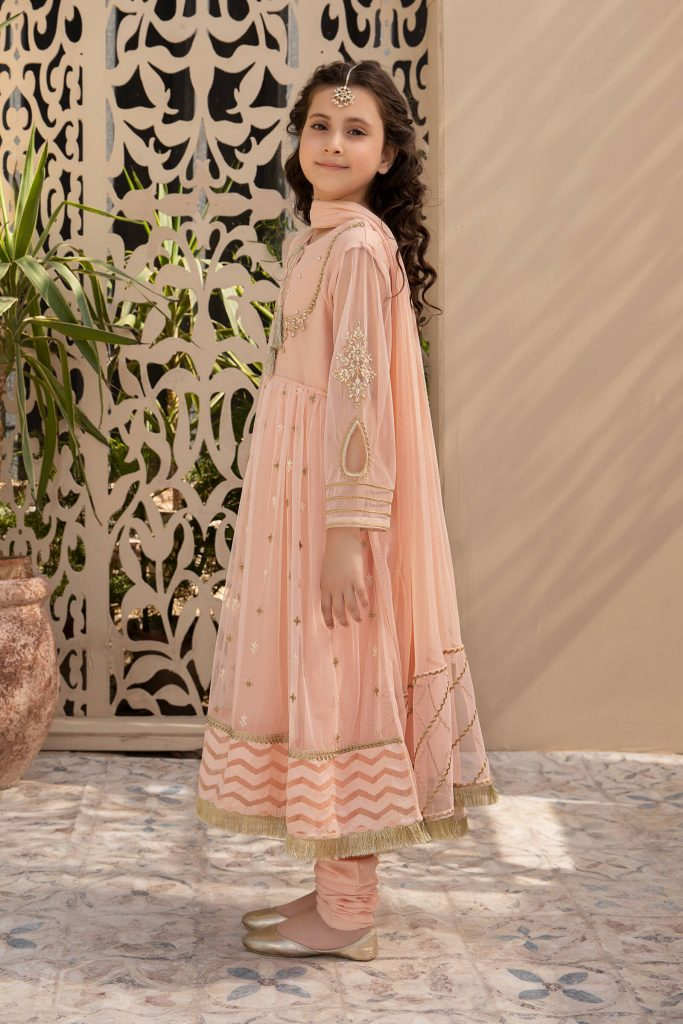 MARIA B | KIDS Collection | Suit Pink MKS-SS21-01