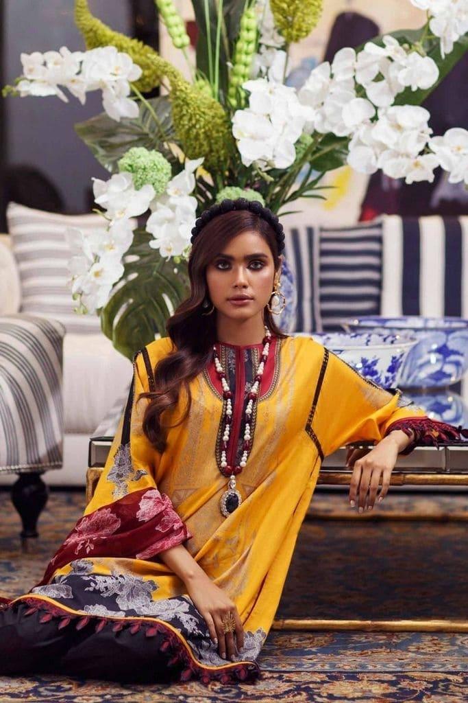 SANA SAFINAZ   MAHAY LAWN Collection'20   11B-I