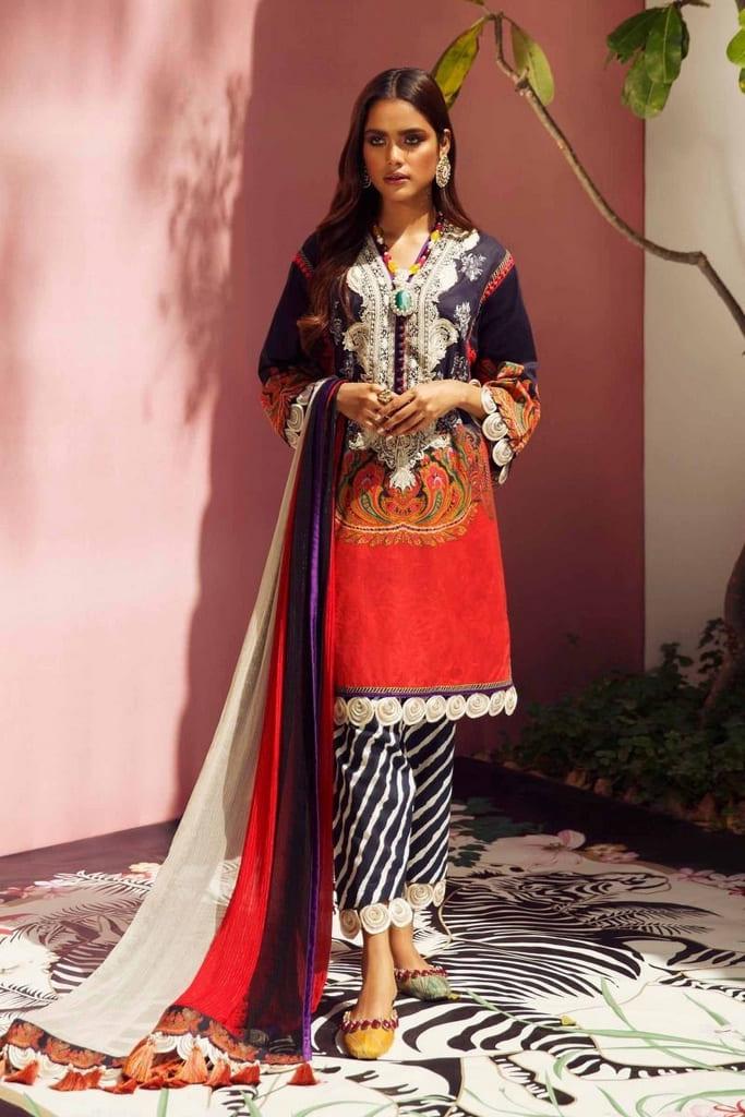 SANA SAFINAZ | MAHAY LAWN Collection'20 | 20A-CI