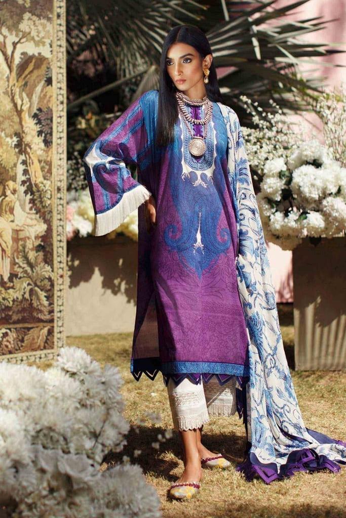 SANA SAFINAZ   MAHAY LAWN Collection'20   2A-Bi