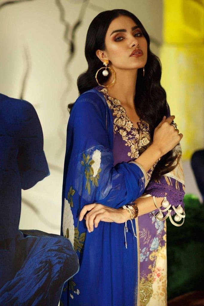 SANA SAFINAZ | MAHAY LAWN Collection'20 | 3B-Bi