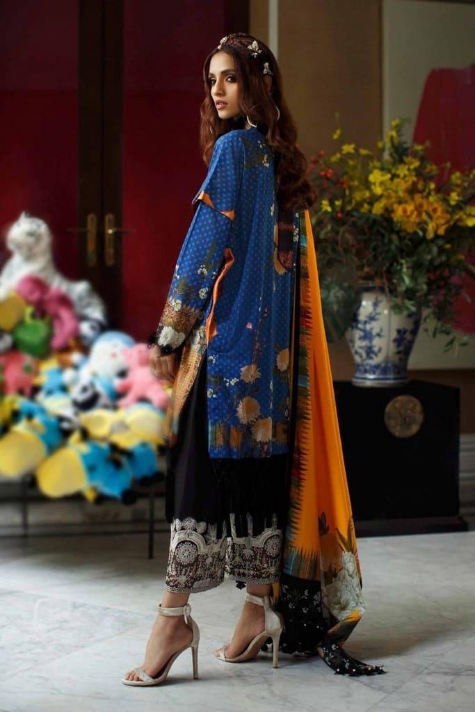 SANA SAFINAZ   MAHAY LAWN Collection'20   5A-G