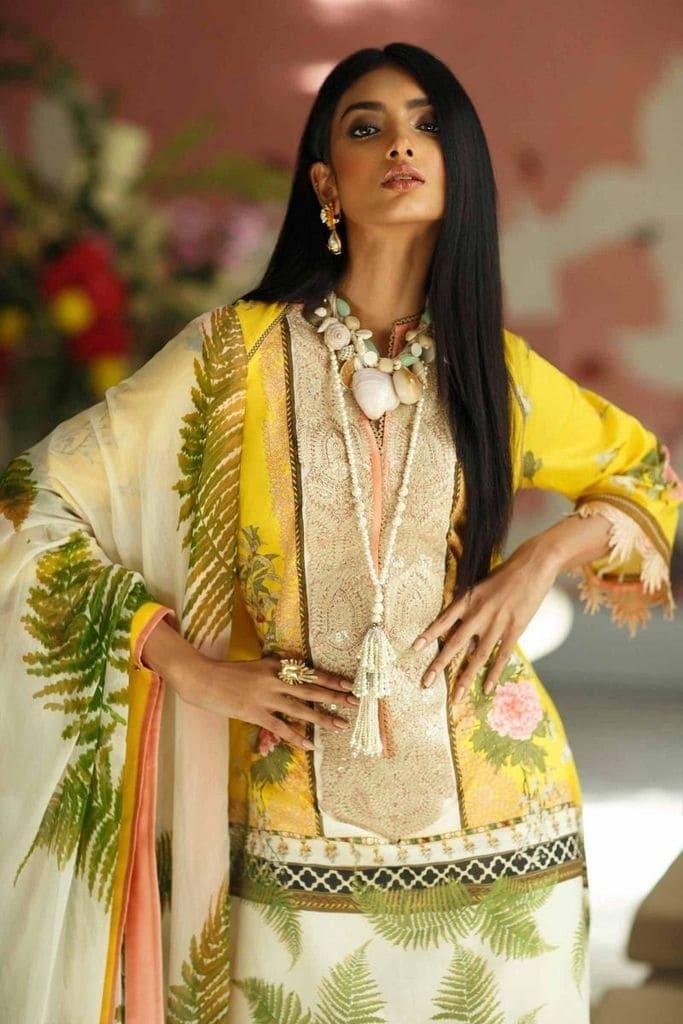 SANA SAFINAZ | MAHAY LAWN Collection'20 | 8B-Bi