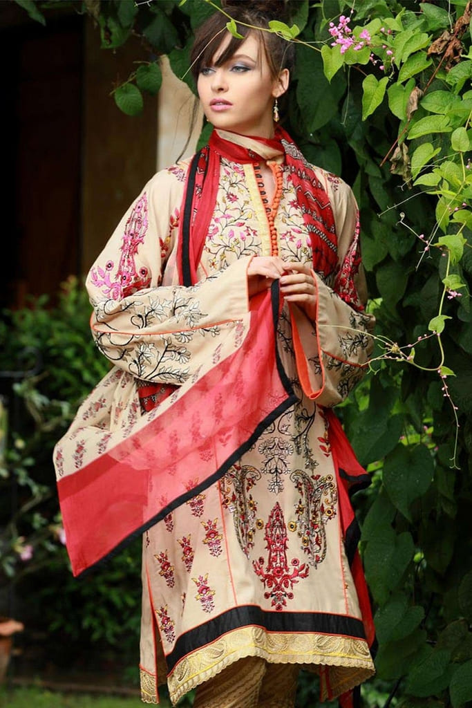 LAKHANY | EMBROIDERED EXCLUSIVE WINTER | LSM18KK 444