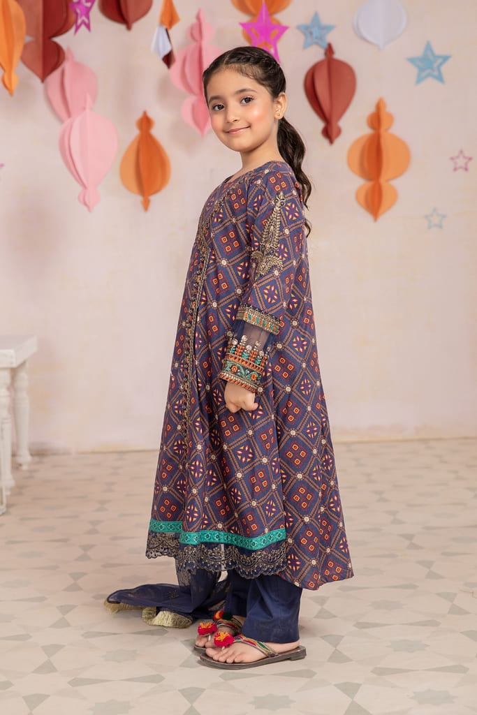 MARIA B   MOMMY N ME/KIDS Collection   Suit Blue MKD-EA21-15