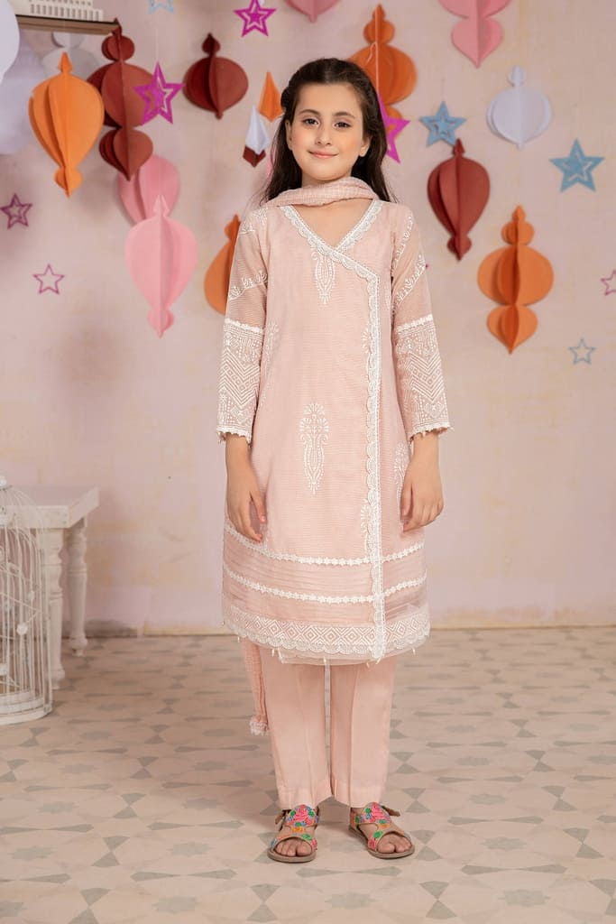 MARIA B | MOMMY N ME/KIDS Collection | Suit Pink MKD-EA21-20