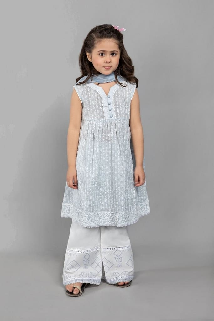 MARIA B | KIDS Collection | Suit Light Blue MKD-SS21-06