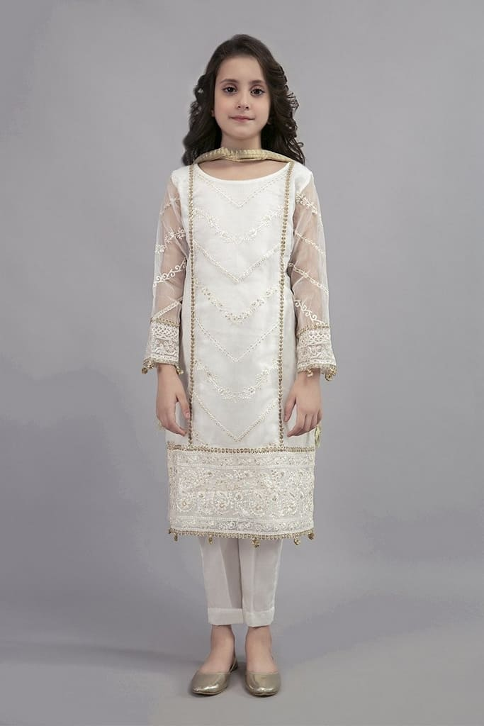 MARIA B | KIDS Collection | Suit White MKS-EA20-07