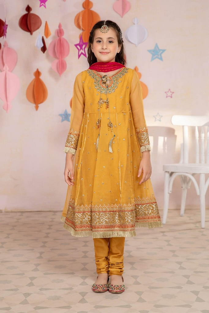 MARIA B | KIDS Collection | Suit Yellow MKS-EA21-01