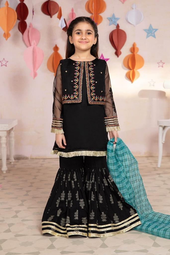 MARIA B   KIDS Collection   Suit Black MKS-EA21-05