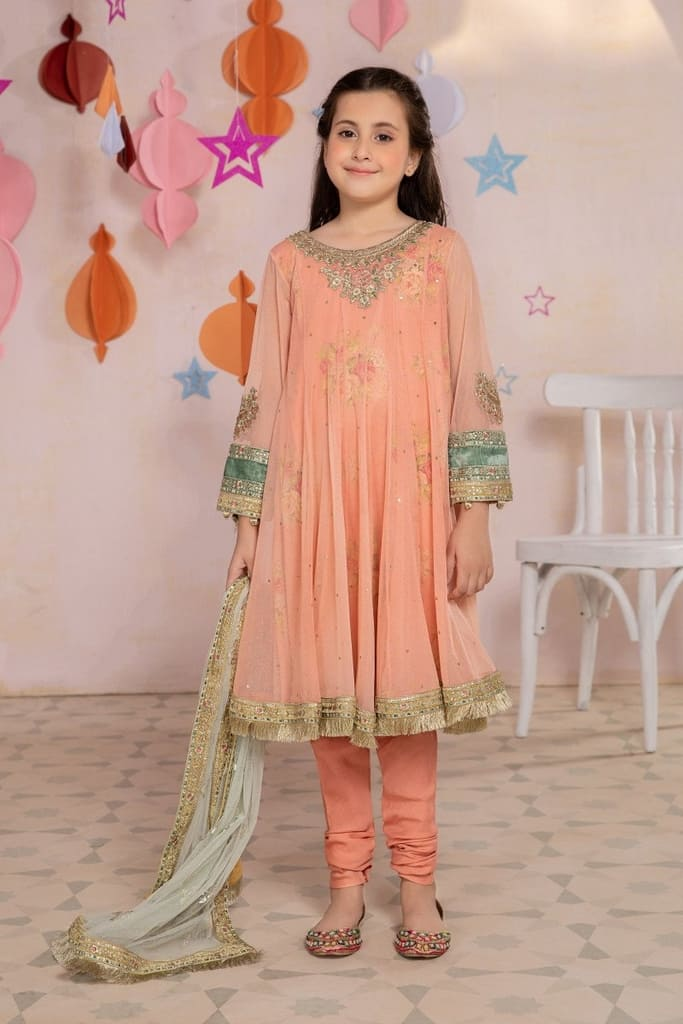 MARIA B | KIDS Collection | Suit Pink MKS-EA21-21