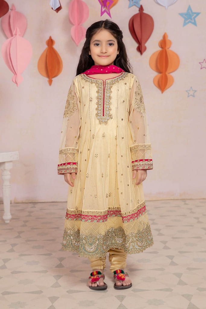MARIA B | KIDS Collection | Suit Yellow MKS-EA21-27