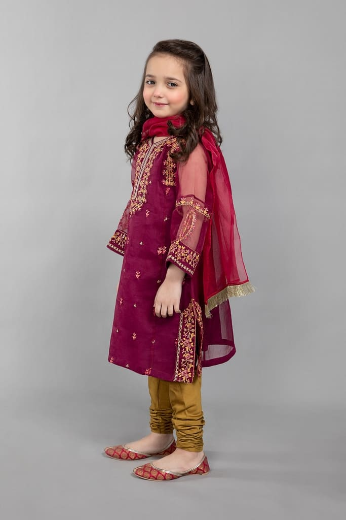 MARIA B | KIDS Collection | Suit Purple MKS-SS21-10