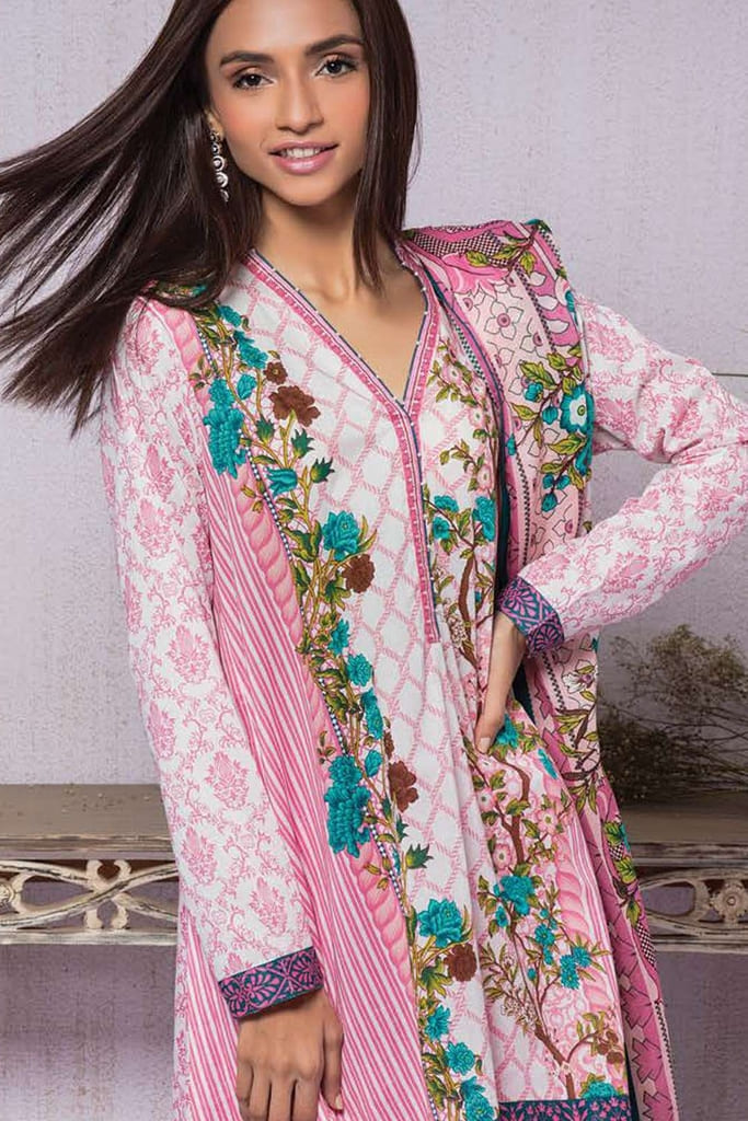 ORIENT   EMBROIDERED LAWN Collection   198B