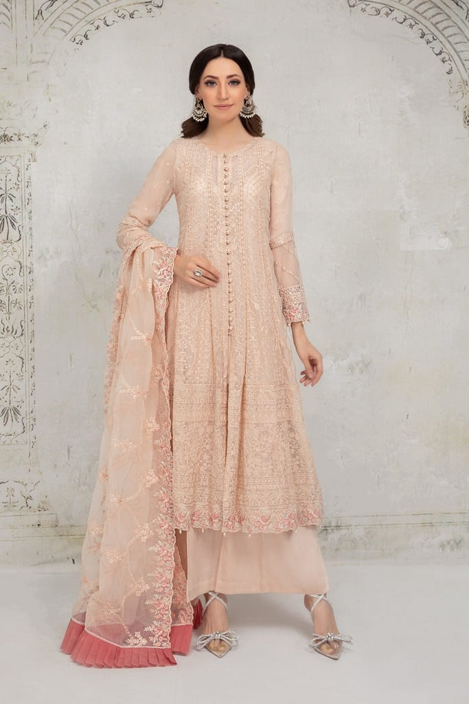 MARIA B | EVENING WEAR Collection | Suit Pink SF-EA21-01