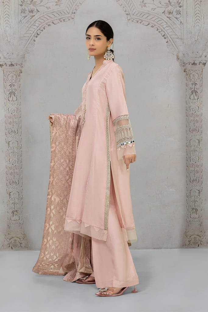 MARIA B | EVENING WEAR Collection | Suit Light Pink SF-EA21-13
